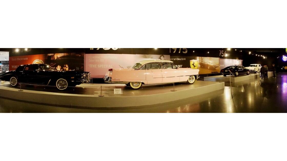 Memphis Graceland Les voitures du King 1