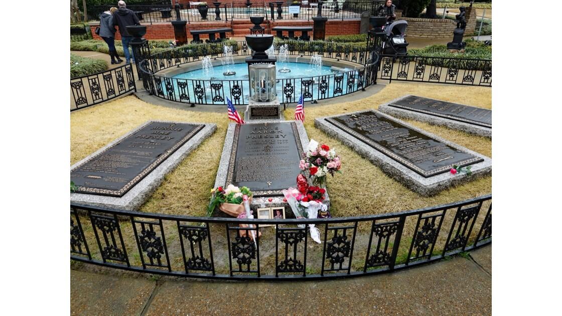Memphis Graceland Jardin des méditations 1