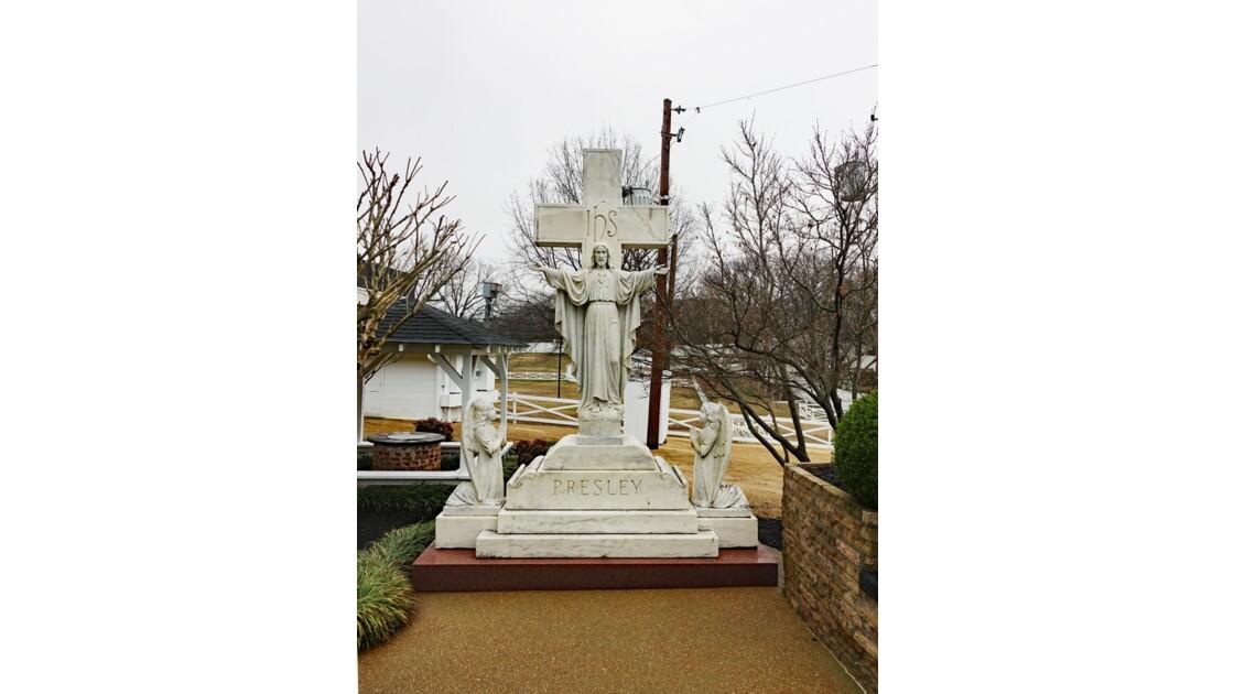 Memphis Graceland Jardin des méditations 3