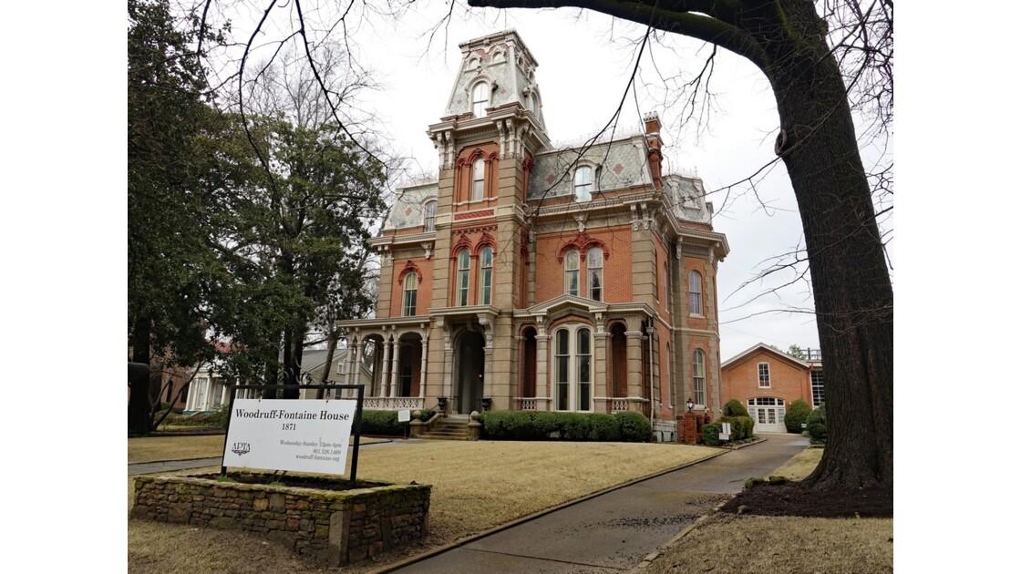 MemphisVictorian Village Woodruff-Fontaine House 1