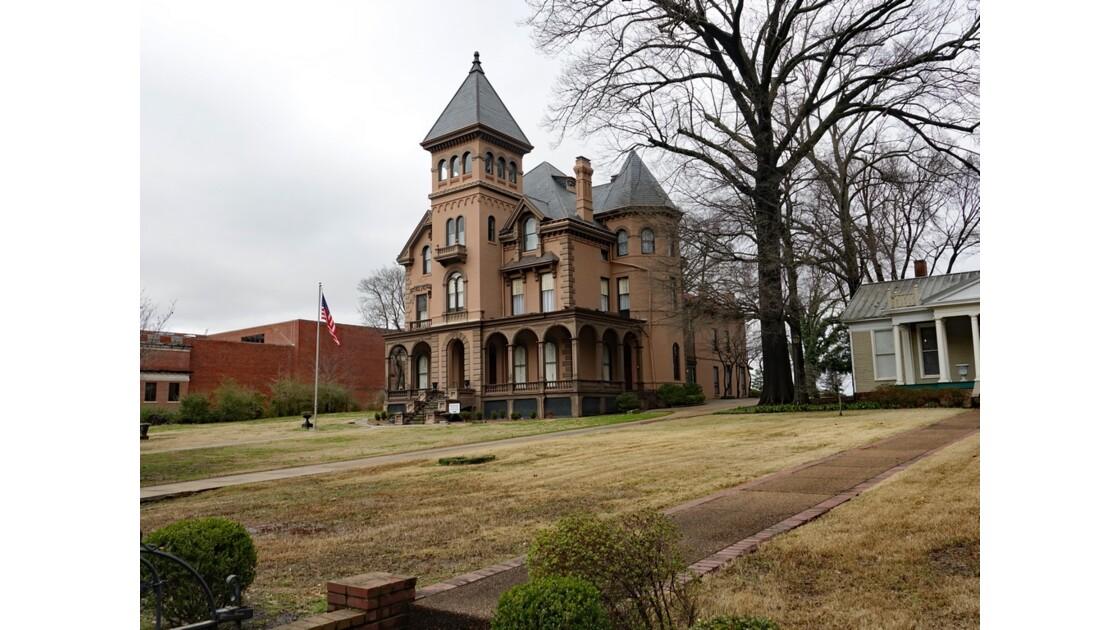 Memphis Victorian Village Mallory Neely House et une partie de Magevney House