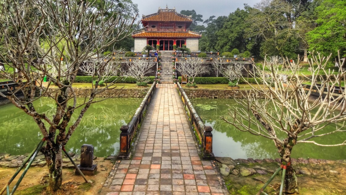 HUE mausolée de Minh Mang