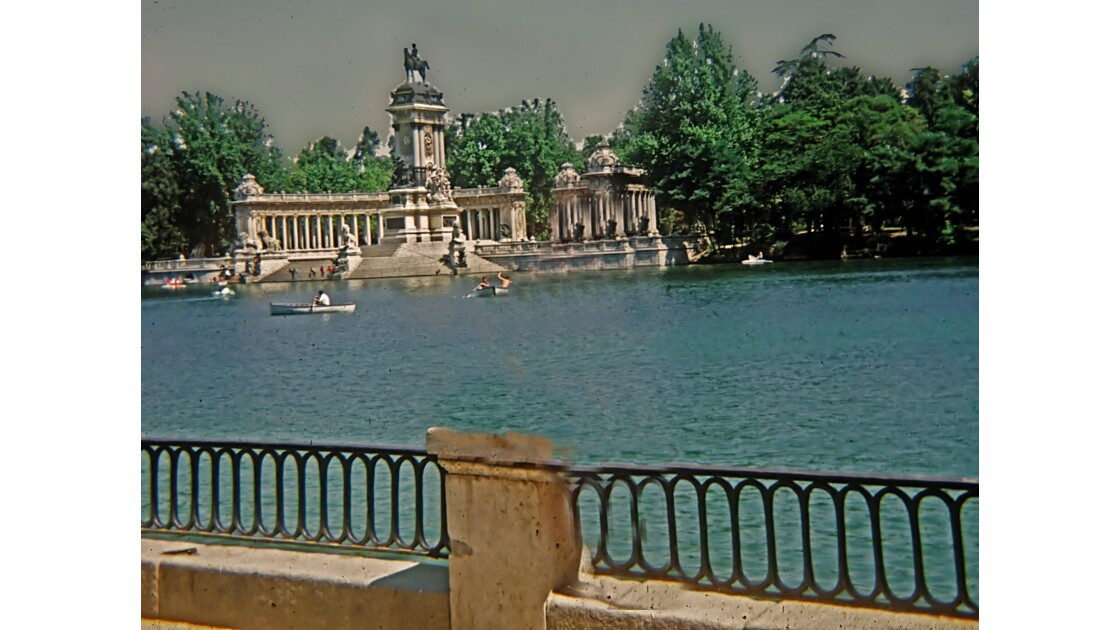 MADRID Parc du retiro