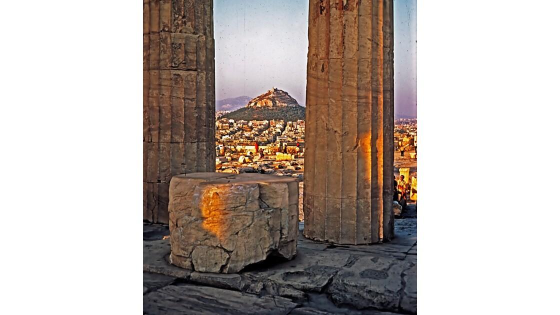 ATHENES Vue de Lycabette