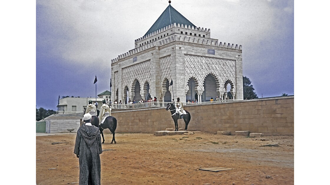 Rabat  Tombeau de Mohammed 5