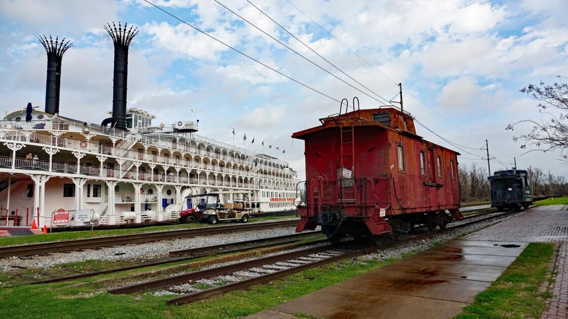 Vicksburg Autour de l'Old Depot Museum 1