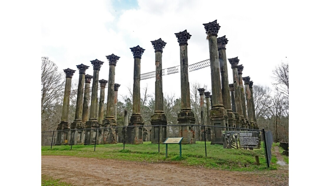 Port Gibson Windsor Ruins 1