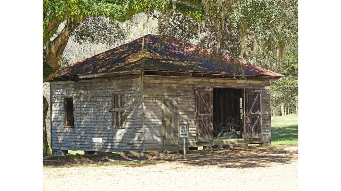 Natchez Longwood House Ancienne cabane d'esclaves