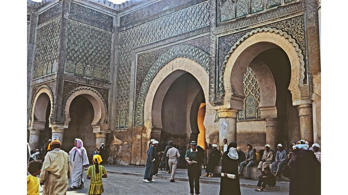 Meknes Porte de la place El Hedim