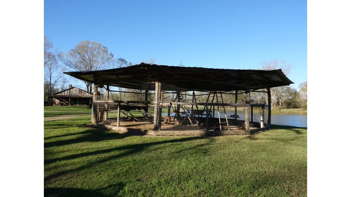 St Francisville Greenwood Plantation La volière