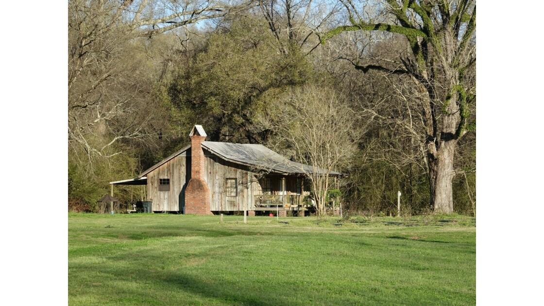 St Francisville Greenwood Plantation maison des esclaves