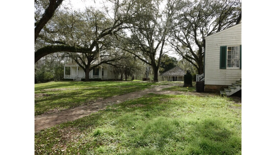 St Francisville Rosedown Plantation and Gardens Les dépendances