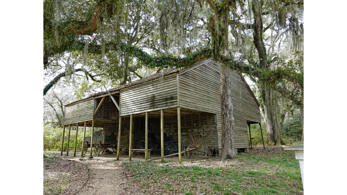 St Francisville Rosedown Plantation and Gardens Vieille grange 2