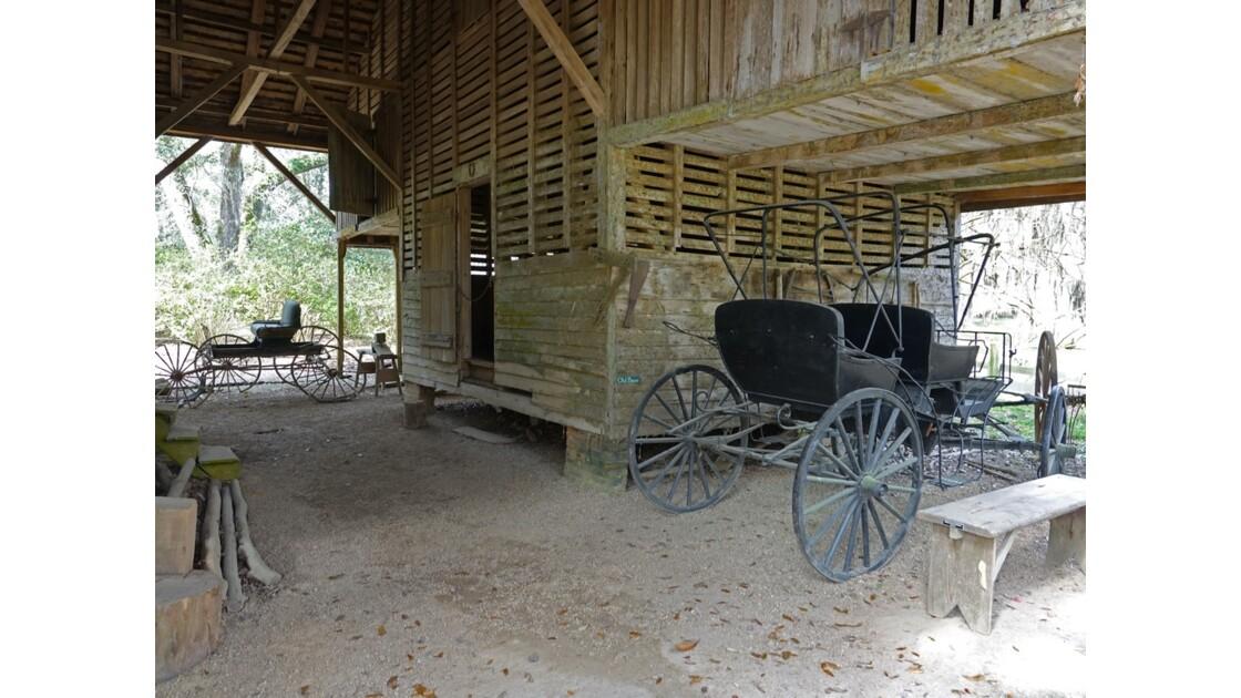 St Francisville Rosedown Plantation and Gardens Vieille grange 3