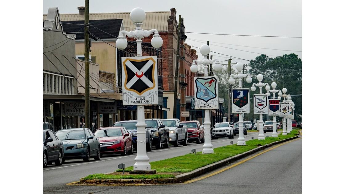 Franklin Main St Allée des réverbères historiques 3