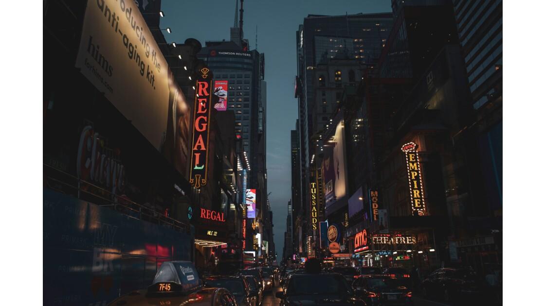 La nuit à NYC