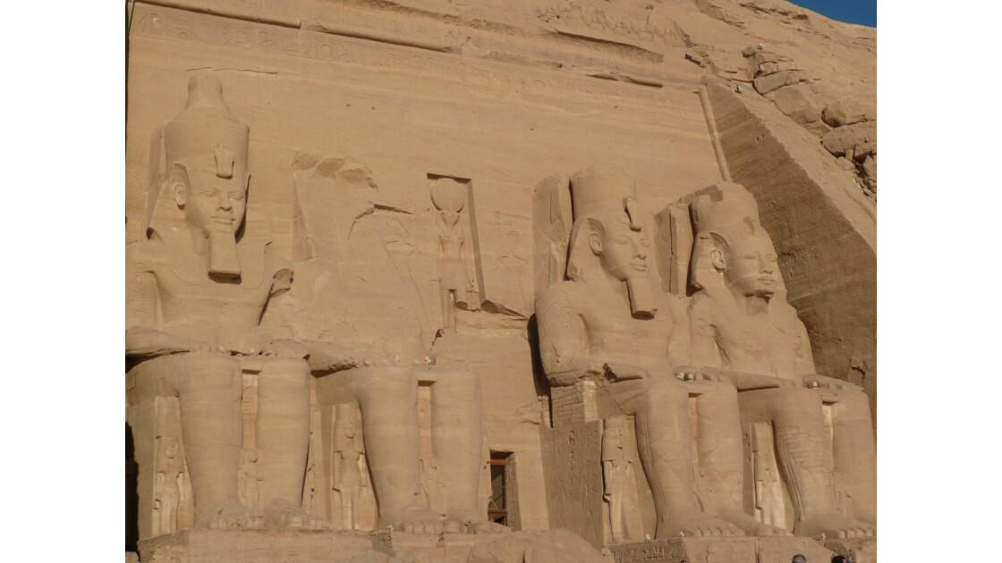 voyage le long du Nil, du Caire à Abou simbel
