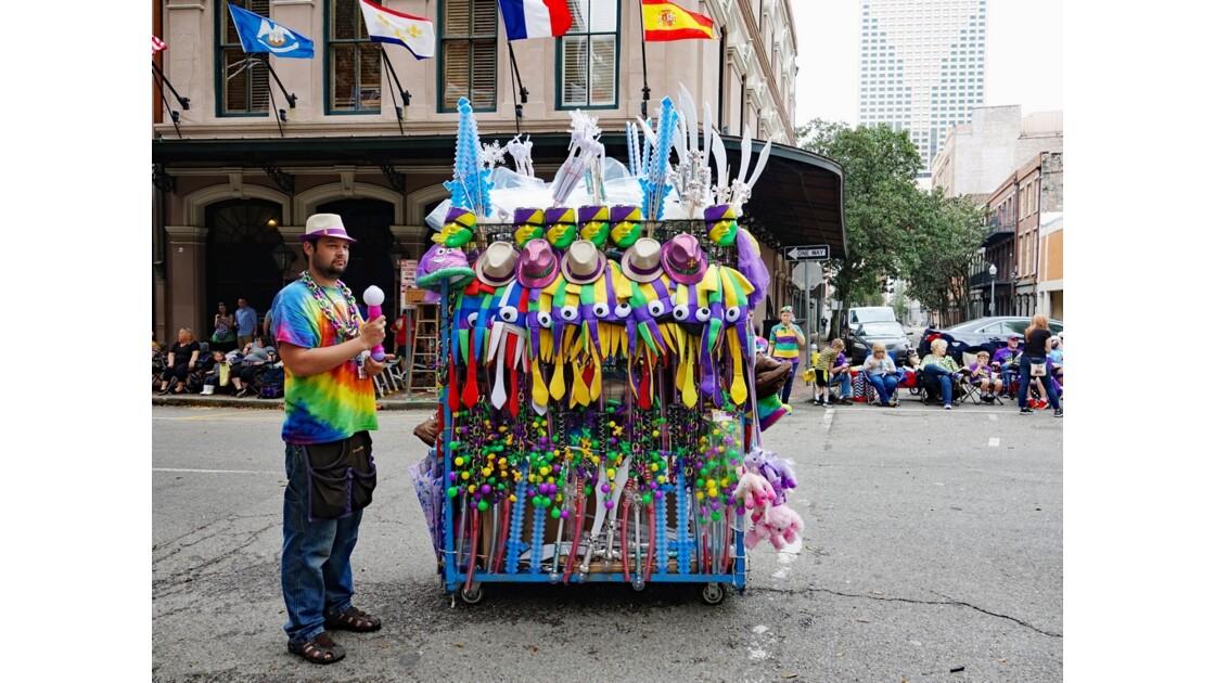 New Orleans Carnaval En attendant le défilé 1