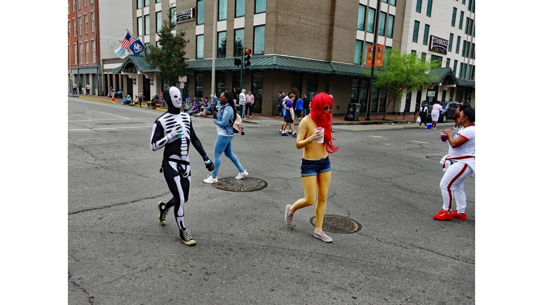 New Orleans Carnaval En attendant le défilé 5