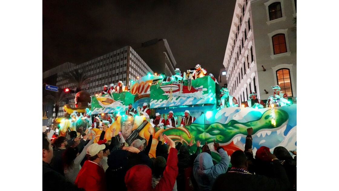 New Orleans Carnaval Krewe of Bacchus 54