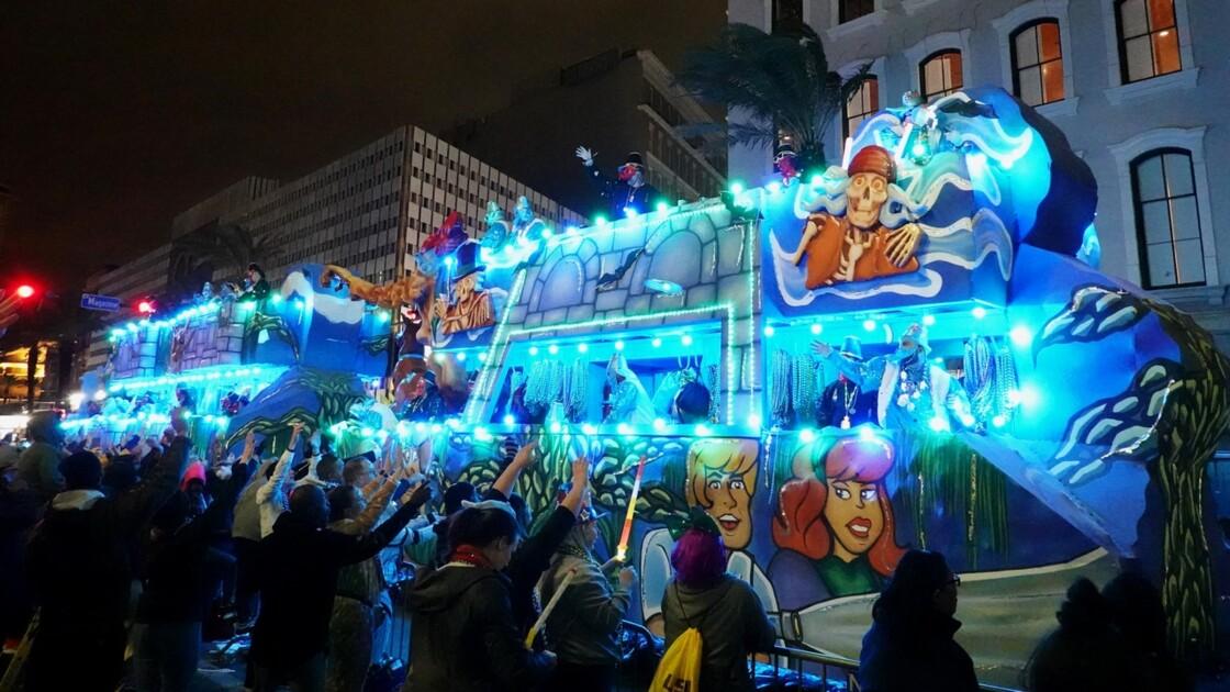 New Orleans Carnaval Krewe of Bacchus 67