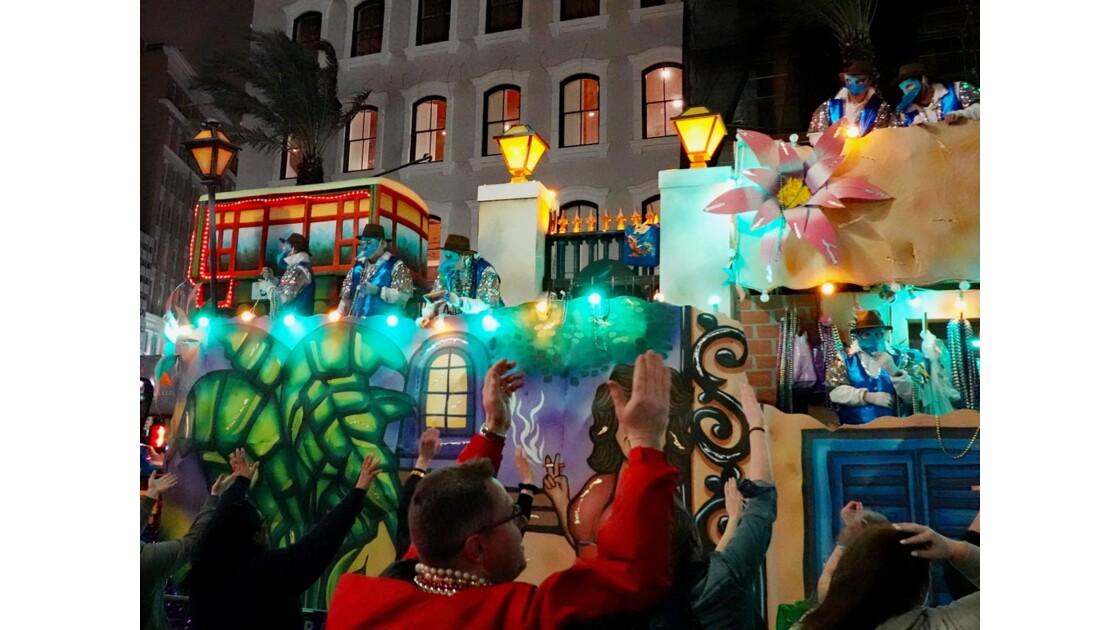 New Orleans Carnaval Krewe of Bacchus 68