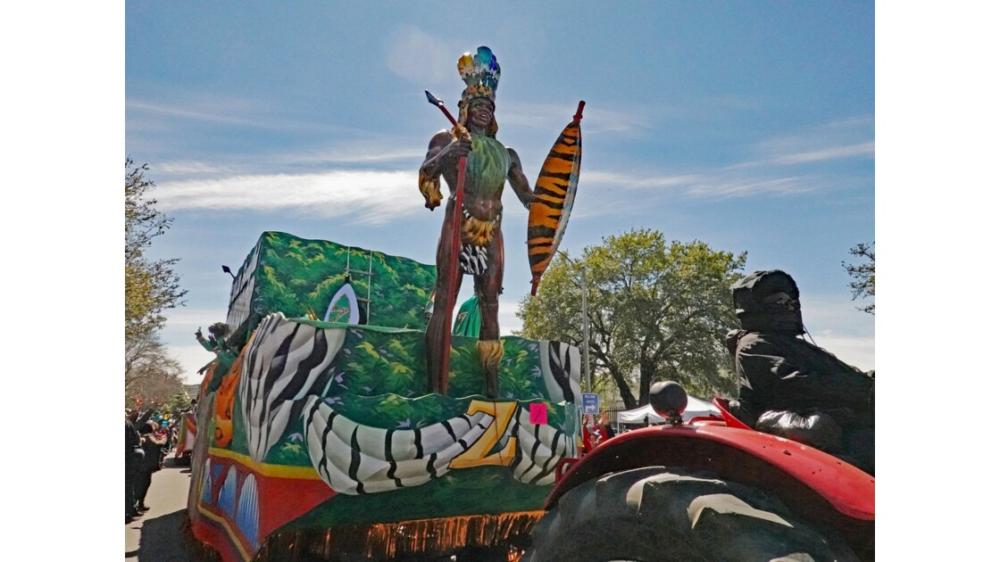 New Orleans Carnaval Krewe of Zulu 33