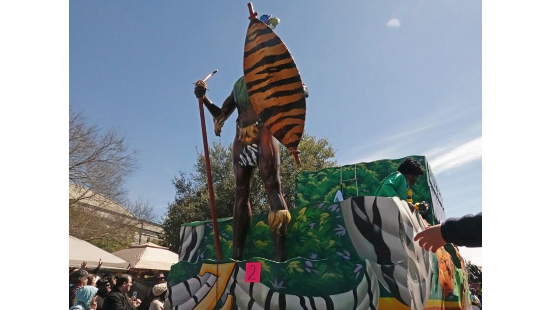 New Orleans Carnaval Krewe of Zulu 34