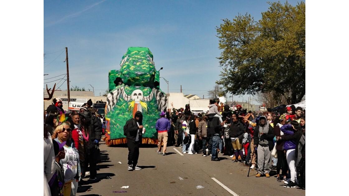 New Orleans Carnaval Krewe of Zulu 37