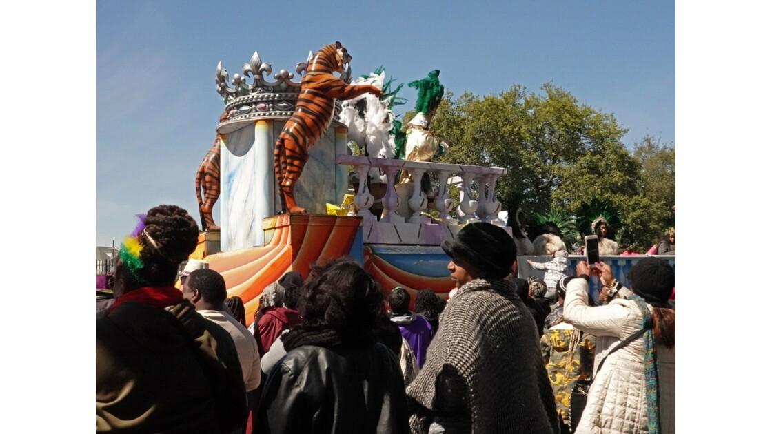New Orleans Carnaval Krewe of Zulu 38