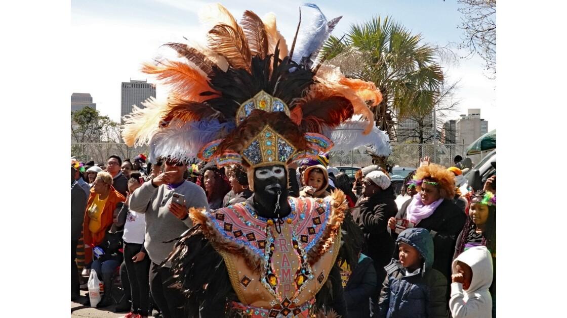 New Orleans Carnaval Krewe of Zulu 16