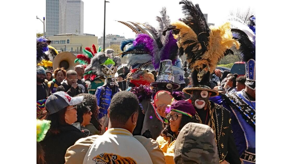 New Orleans Carnaval Krewe of Zulu 19