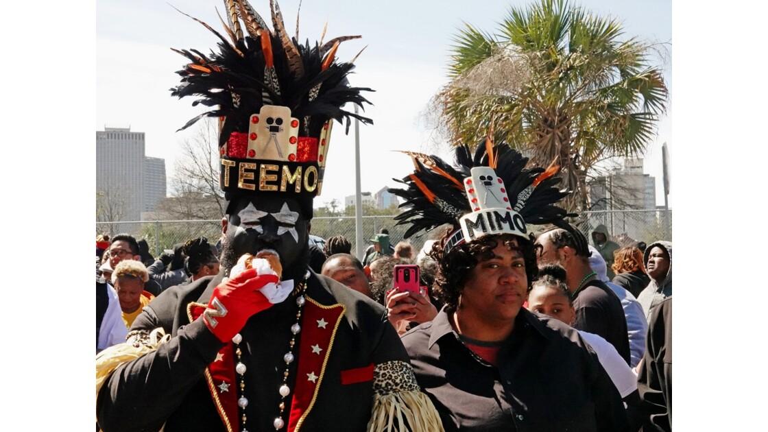 New Orleans Carnaval Krewe of Zulu 25