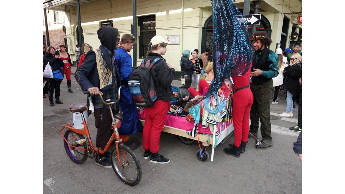 New Orleans Jour de Mardi-Gras French Quarter 2