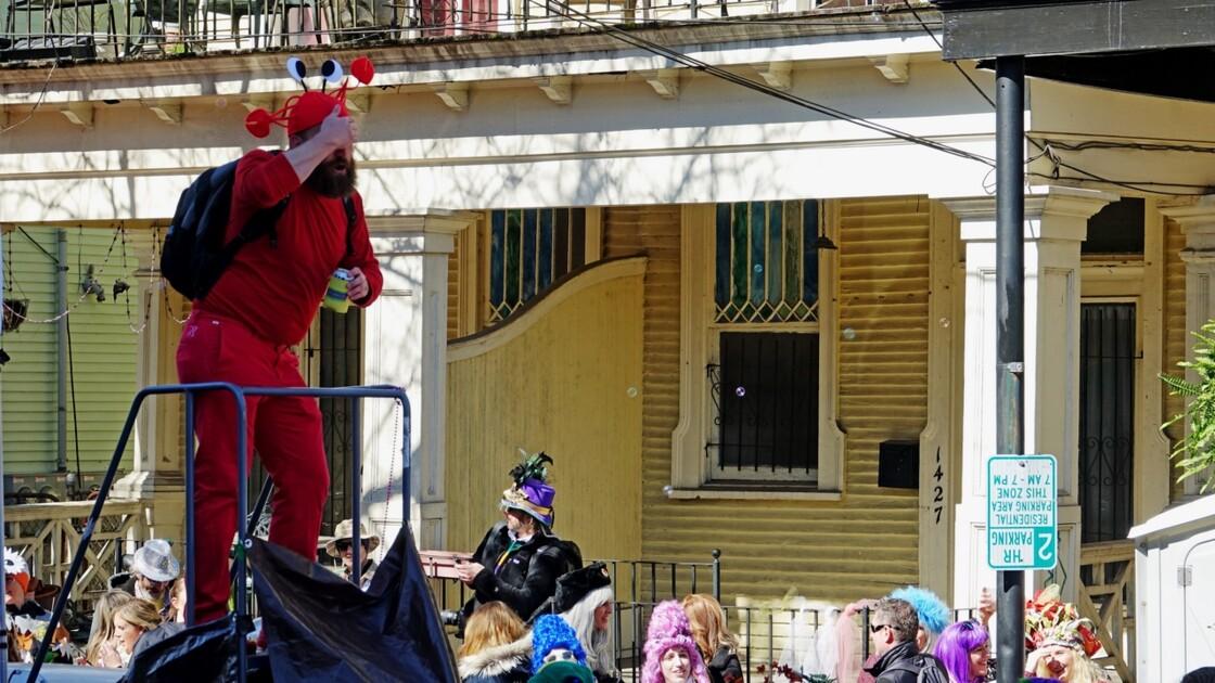 New Orleans Jour de Mardi-Gras Royal Street Inn Bar 8