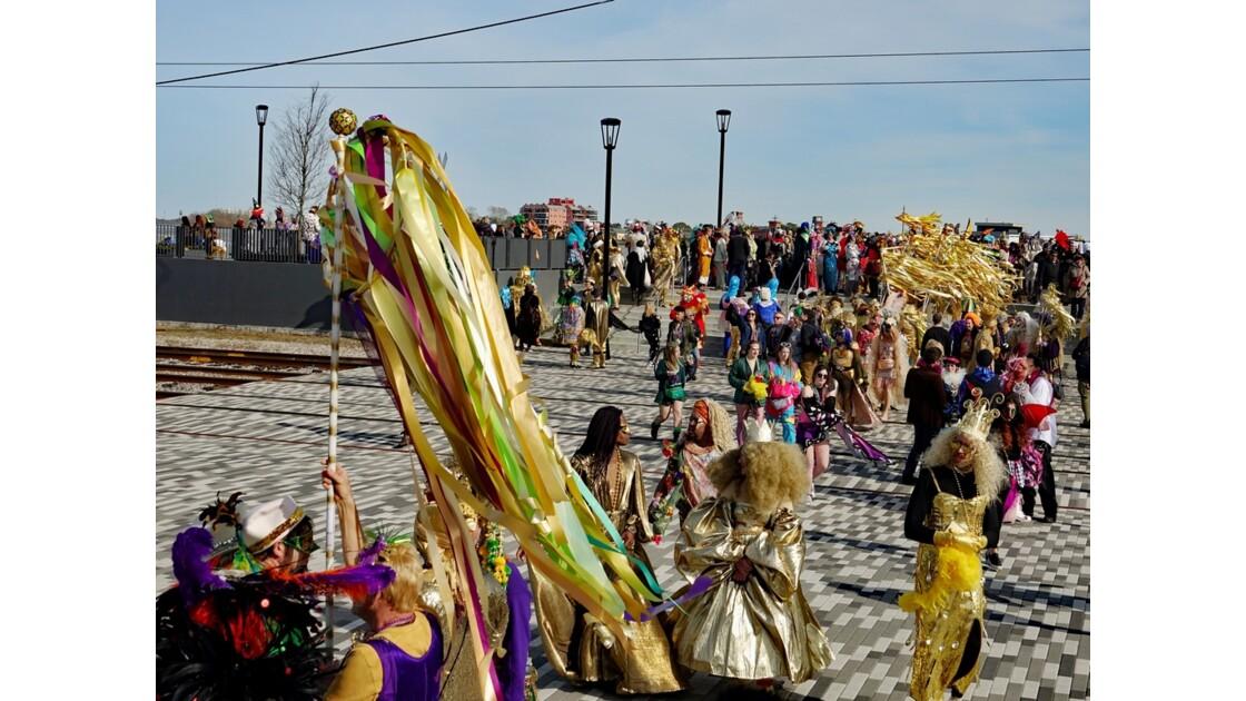 New Orleans Jour de Mardi-Gras Washington Artillery Park 2