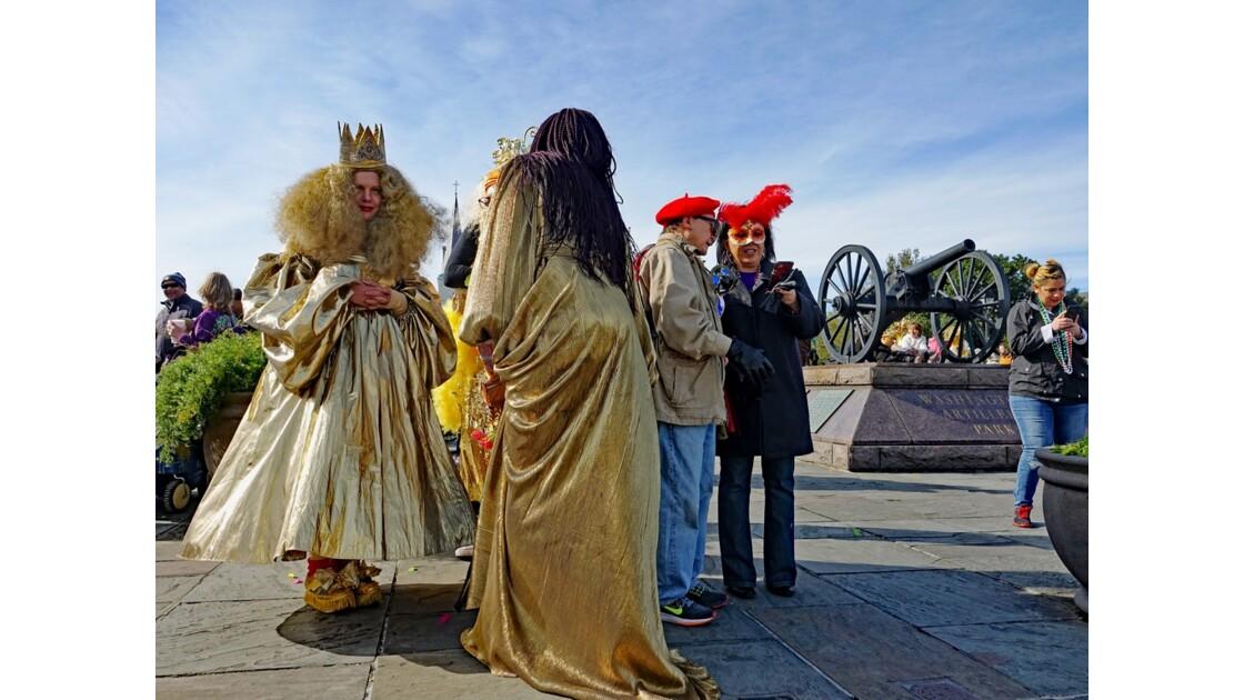 New Orleans Jour de Mardi-Gras Washington Artillery Park 4