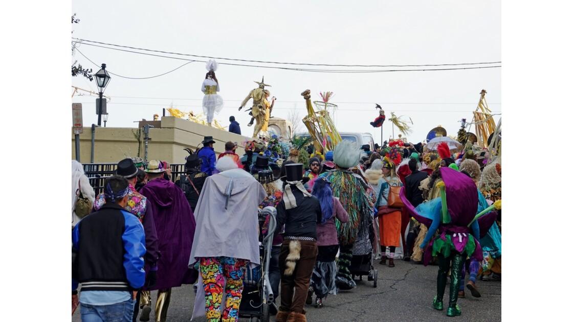 New Orleans Jour de Mardi-Gras Washington Artillery Park 7