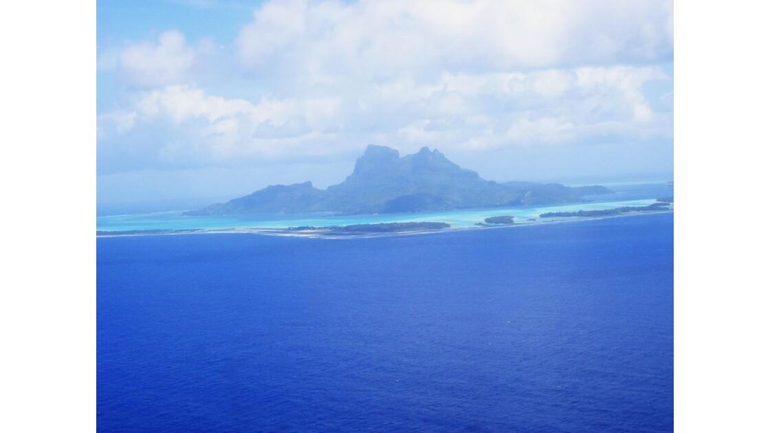 Survol des îles