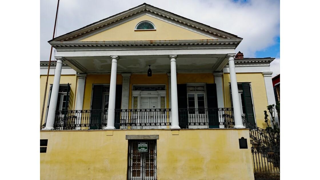 New Orleans Chartres Street Historic Beauregard-Keyes House 2