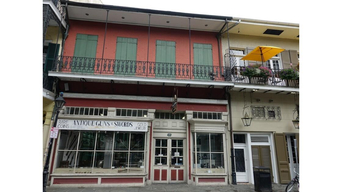 New Orleans Royal Street Ancienne pharmacie Antoine Peychaud  2