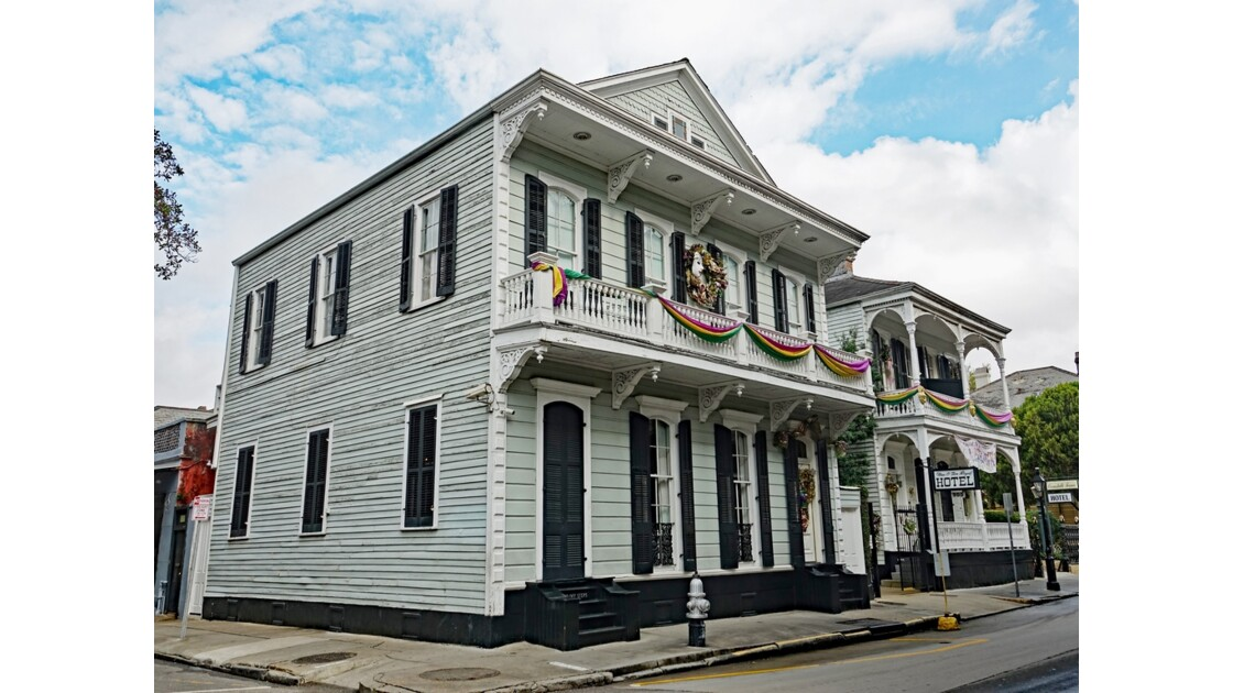 New Orleans Royal Street Nine O Five Royal Hotel