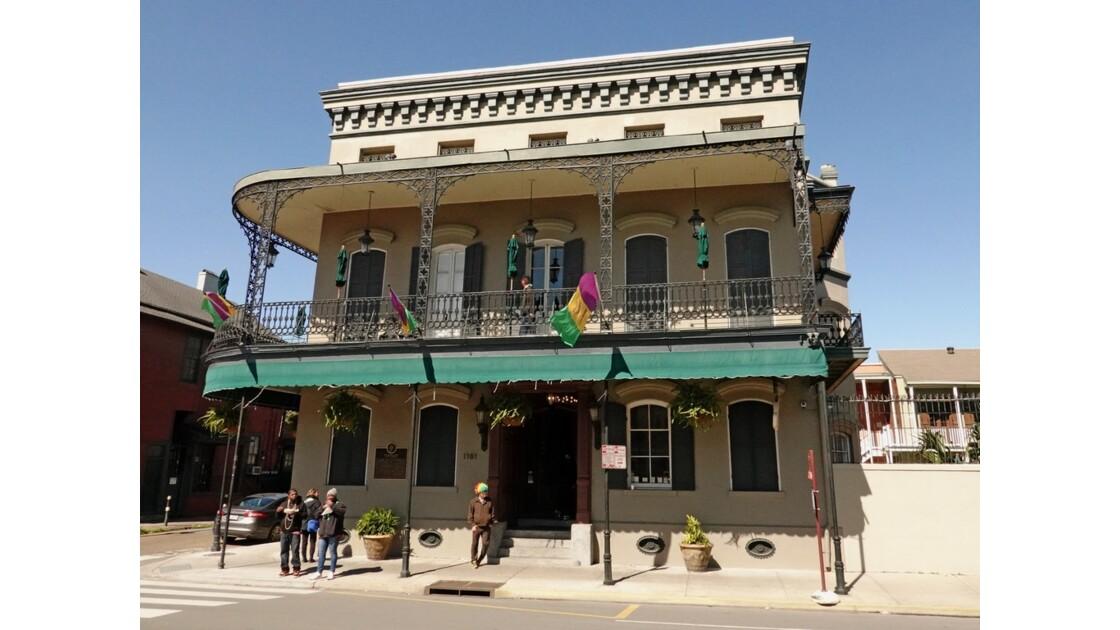 New Orleans North Rampart Street Dupaquier House 2