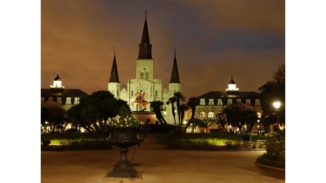 New Orleans Jackson Square Saint Louis Cathedral 2