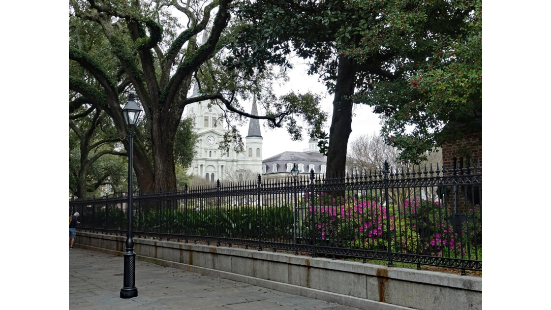 New Orleans Jackson Square Saint Louis Cathedral 3