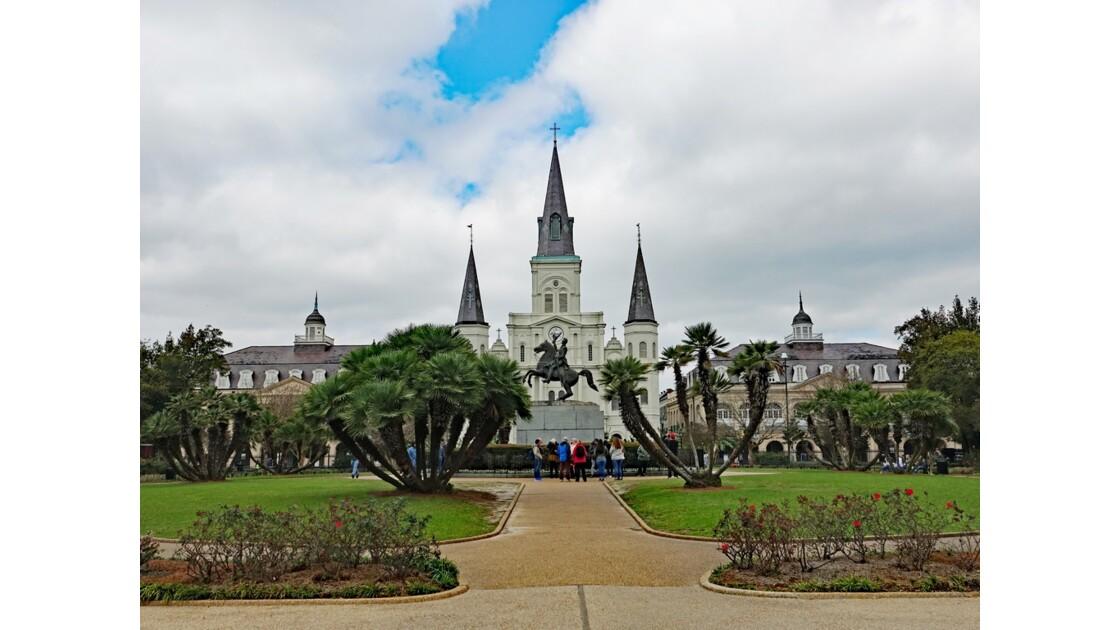 New Orleans Jackson Square Saint Louis Cathedral 4
