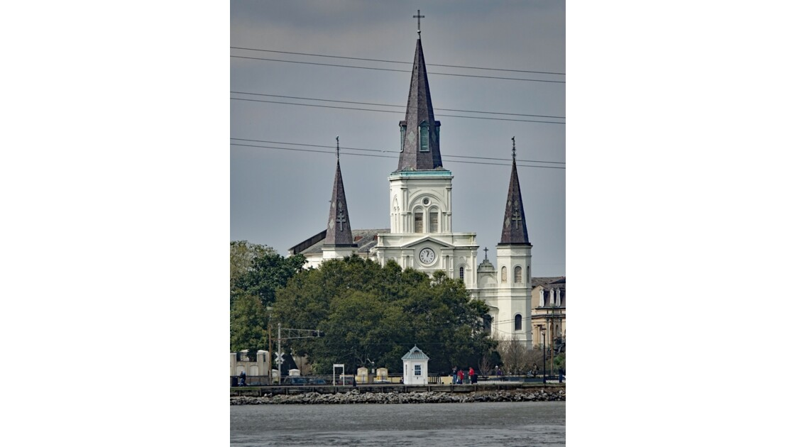 New Orleans Saint Louis Cathedral 2