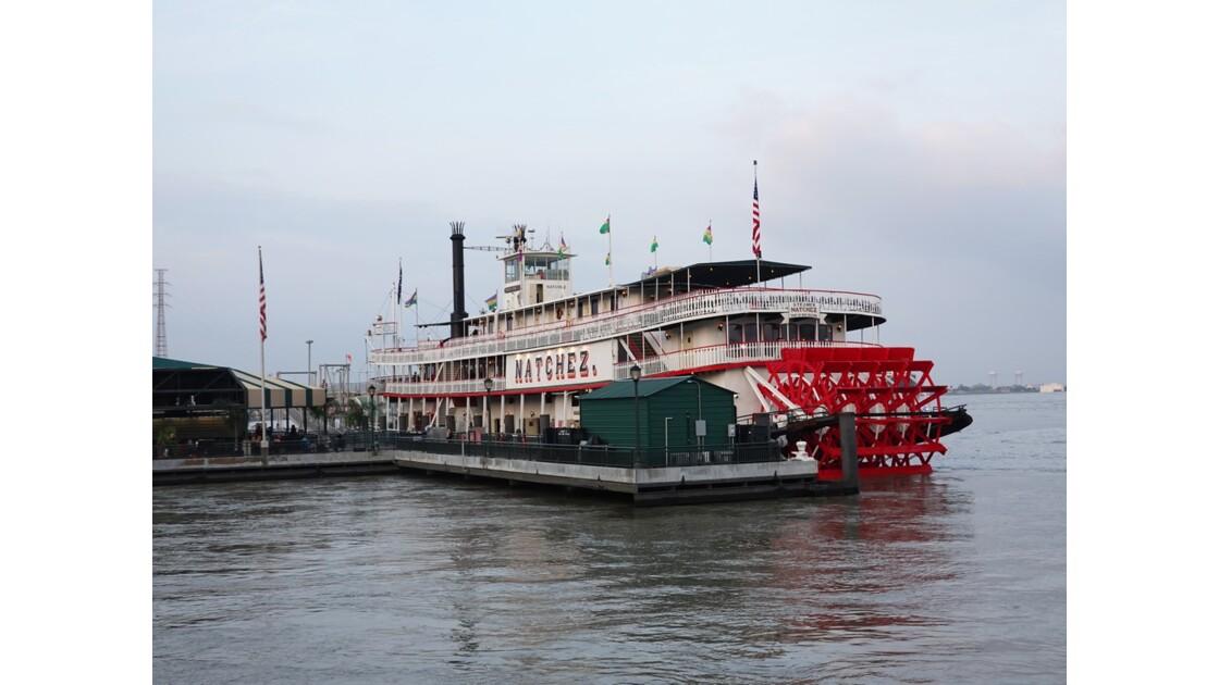 New Orleans Le Natchez à quai 1