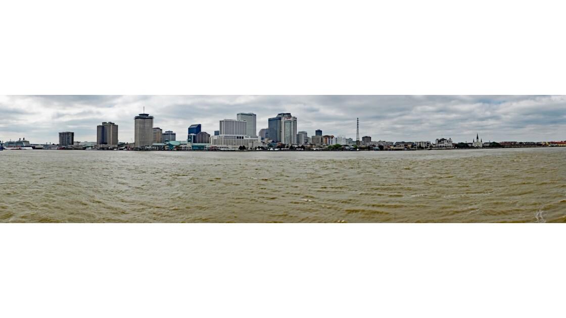 New Orleans Le Natchez à quai 3