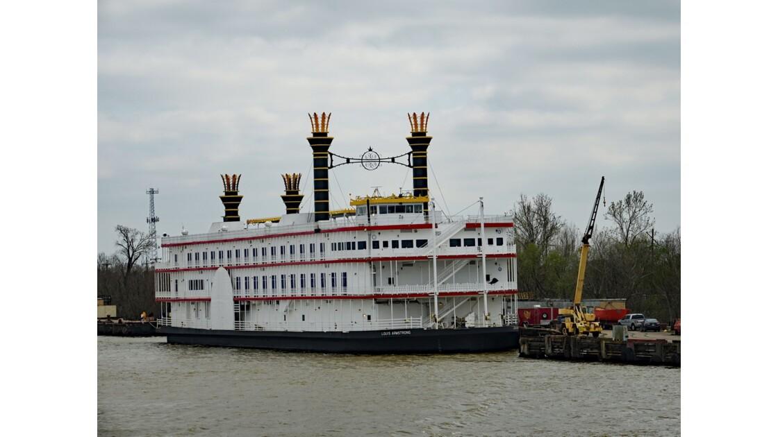 New Orleans Sur le Mississippi Le Casino flottant Louis Armstrong